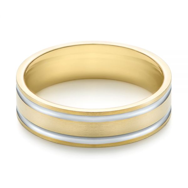 Men's Wedding Ring - Flat View -  103814