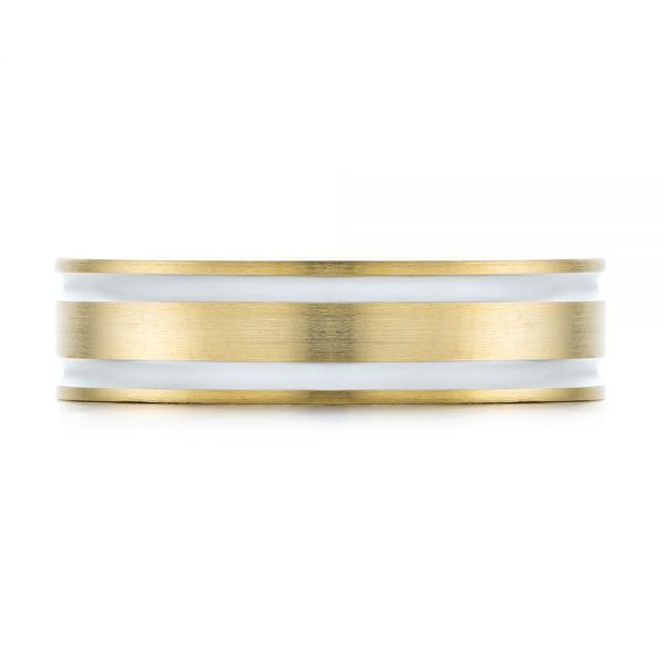 Men's Wedding Ring - Top View -  103814