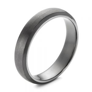 Tantalum Men's Wedding Ring - Image