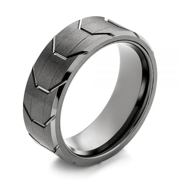 Tungsten Men's Wedding Band - Image