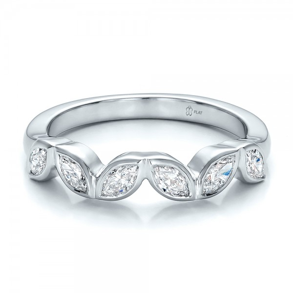 custom marquise wedding band 100779 bellevue