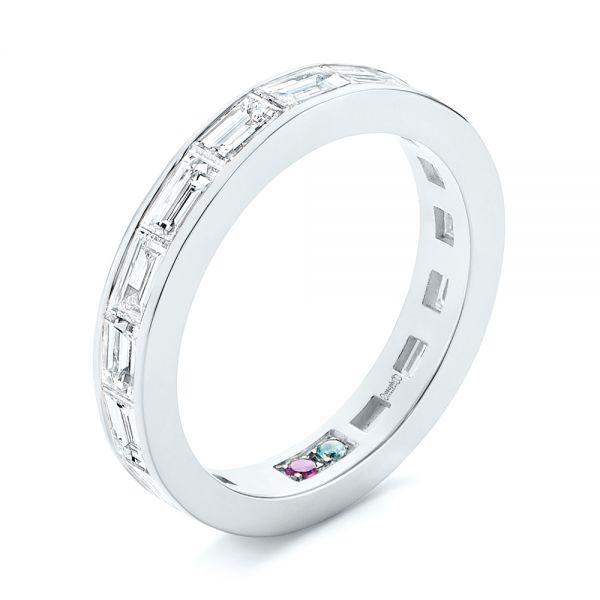 Baguette Diamond Wedding Band - Image