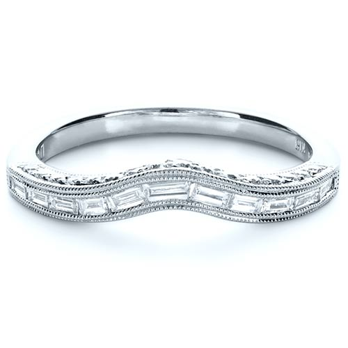 Baguette Diamond Women's Wedding Band