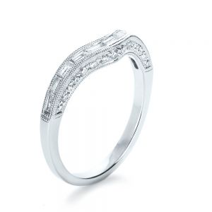 Baguette Diamond Women's Wedding Band - Image