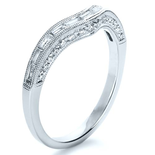 baguette diamond women 39 s wedding band 1147