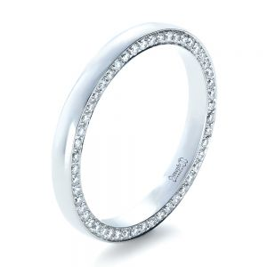 Custom Bright Cut Eternity Band - Image