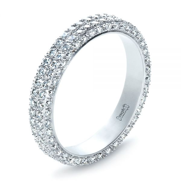 Custom Diamond Eternity Band - Image