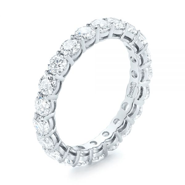 Custom Diamond Eternity Wedding Band - Image