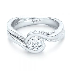Custom Diamond Jacket Wedding Band