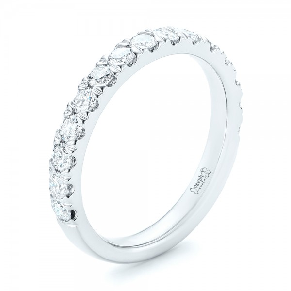 Custom Diamond Wedding Band