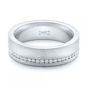 Custom Diamond Eternity Wedding Band