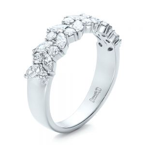 Custom Diamond Wedding Ring - Image