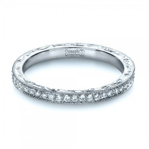 Custom Diamond Women's Eternity Band