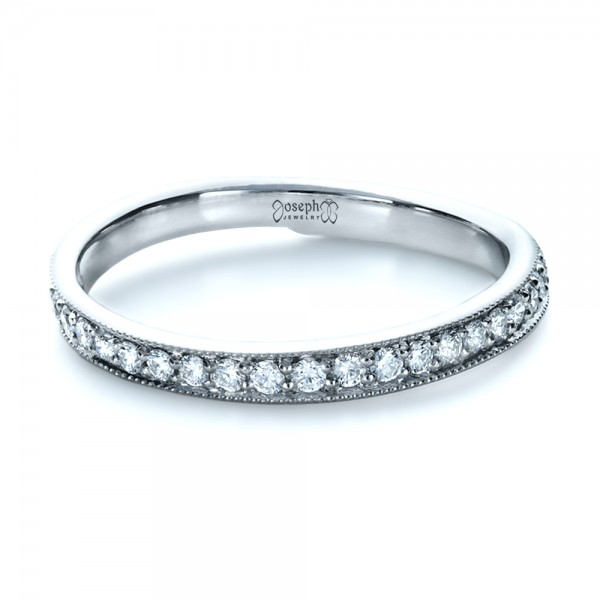 Custom Diamond Women's Wedding Band