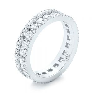 Custom Eternity Diamond Wedding Band