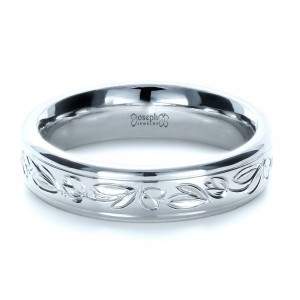 Custom Hand Engraved Wedding Ring