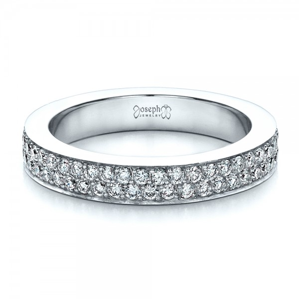 Custom Pave Eternity Band