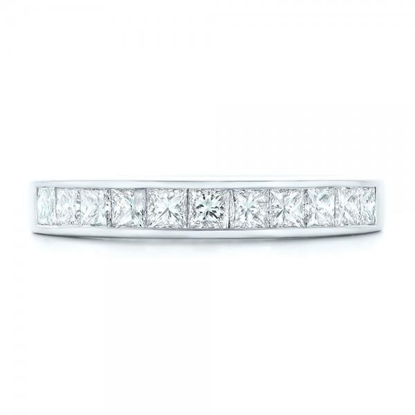 custom princess cut diamond wedding band 102400 - Princess Cut Diamond Wedding Ring