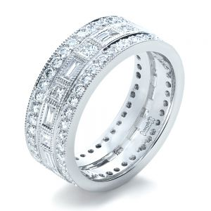 Custom Women's Diamond Eternity Band - Image