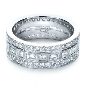Custom Women's Diamond Eternity Band
