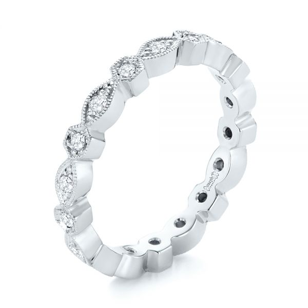 Diamond Eternity Wedding Band - Image