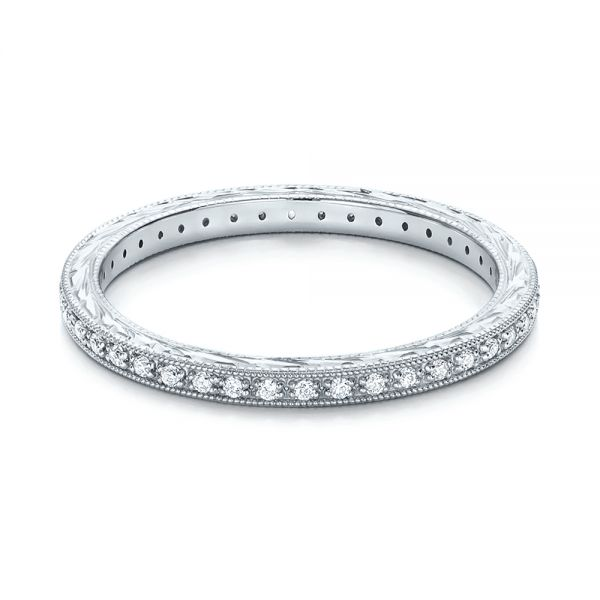 Diamond Stackable Eternity Band - Flat View -  101895 - Thumbnail