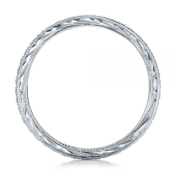 Diamond Stackable Eternity Band - Front View -  101895 - Thumbnail