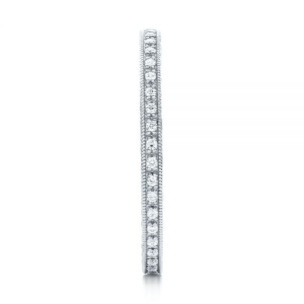 Diamond Stackable Eternity Band - Side View -  101895 - Thumbnail