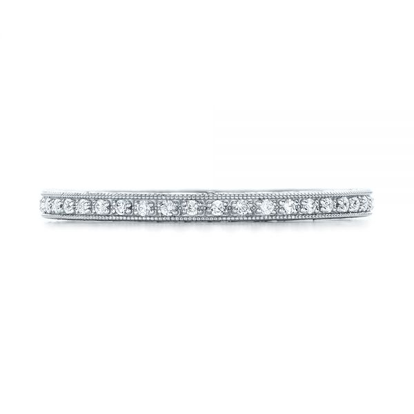 Diamond Stackable Eternity Band - Top View -  101895 - Thumbnail