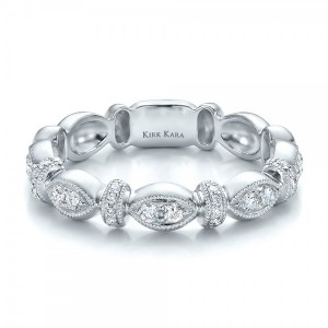 Diamond Wedding Ring - Kirk Kara