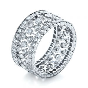 Diamond Women's Anniversary Band - Image