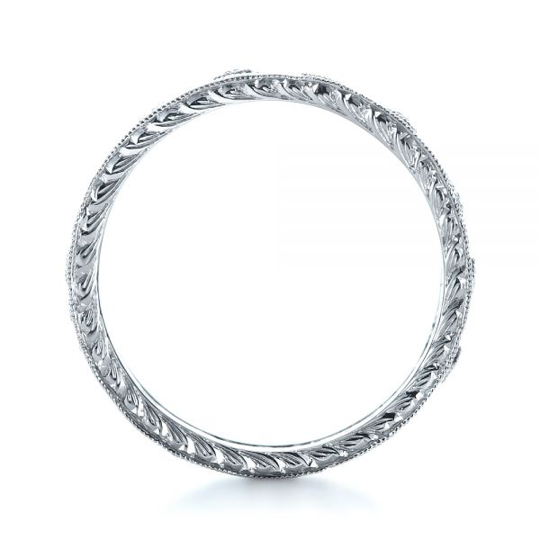 Diamond Women's Anniversary Band - Front View -  1299 - Thumbnail