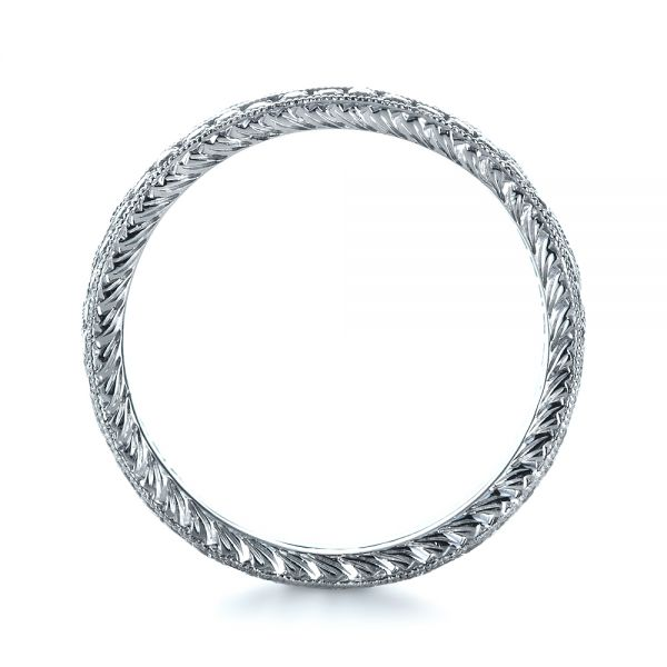 Diamond Women's Anniversary Band - Front View -  1301 - Thumbnail