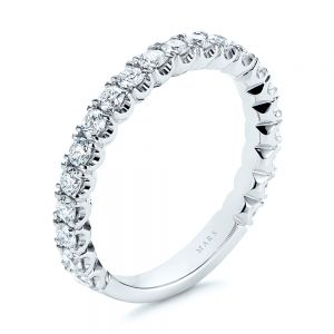 Diamond Women's Wedding Band - Image