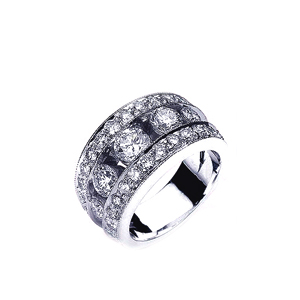 Diamond Women's Wedding Band