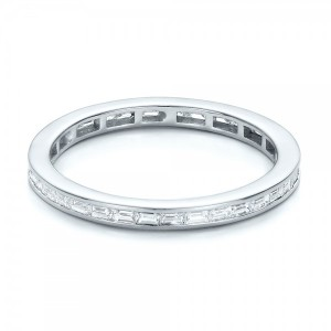Eternity Baguette Diamond Wedding Band