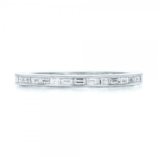 baguette overmann bands diamond wedding greenwich band triple rebecca st