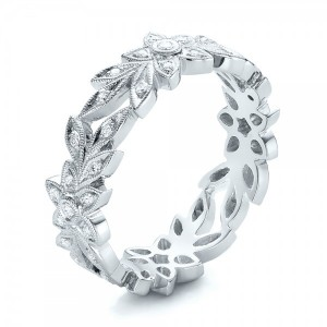 Flower Eternity Band