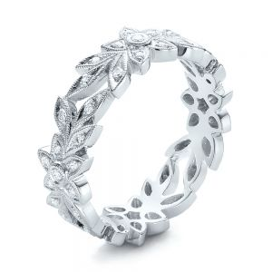 Flower Eternity Band - Image