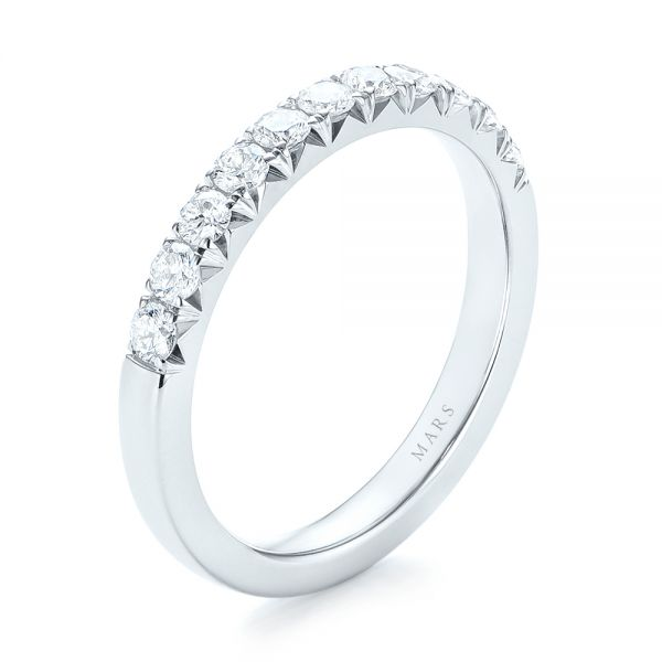 french cut diamond wedding band - Engagement Rings And Wedding Rings