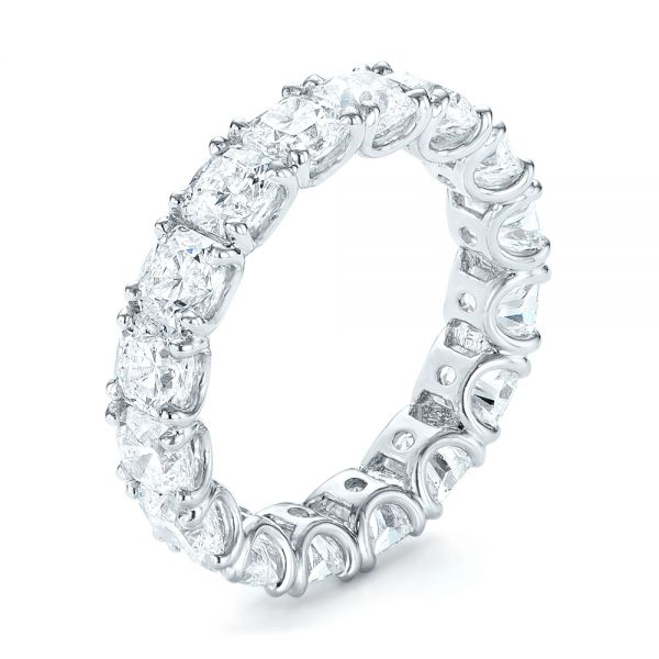 Ideal Square Eternity Wedding Band - Image
