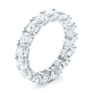 Ideal Square Eternity Wedding Band