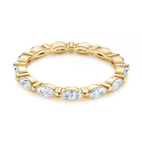 Marquise Diamond Eternity Wedding Band