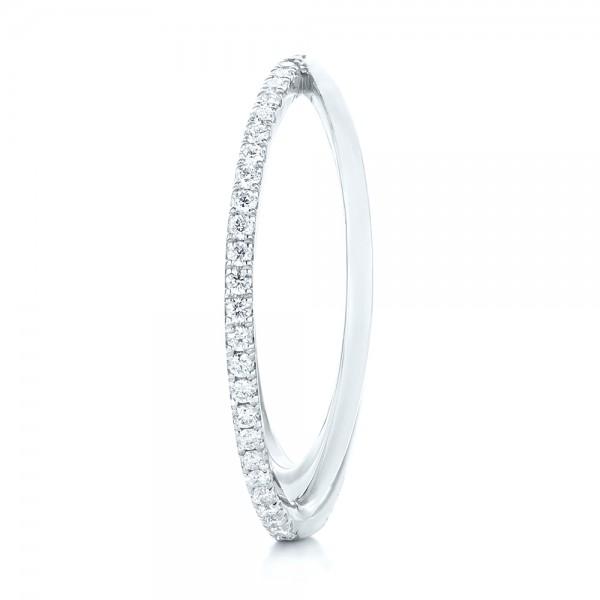 Orbit Eternity Diamond Band - Side View