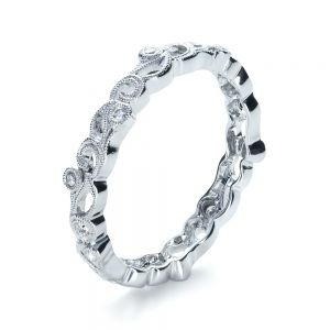 Organic Diamond Eternity Band - Image