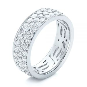 Pave Diamond Women's Anniversary Band