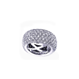 Pave Diamond Women's Eternity Band