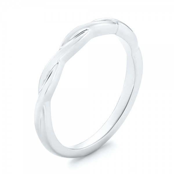 Petite Twist Wedding Band