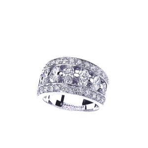 Princess and Marquise Diamond Women's Wedding Band