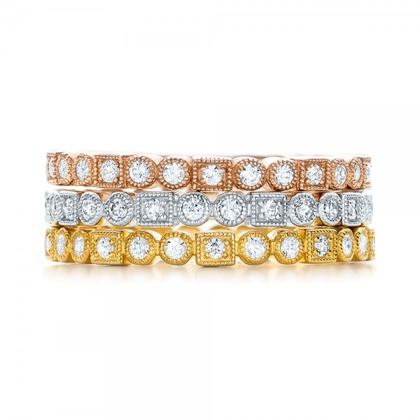 Diamond Stackable Eternity Band